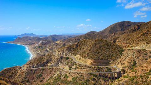 Carretera AL-3115, en Almería