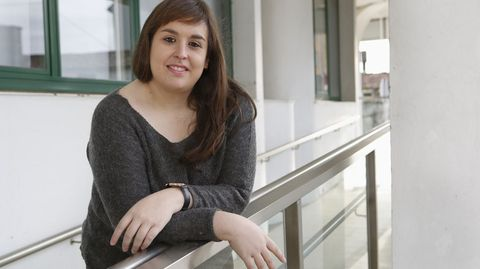 Cristina Couto, psicóloga de la Federación Autismo Galicia