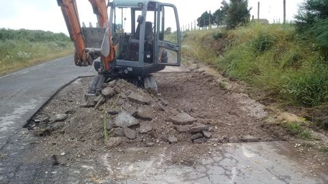 Obras de conservación del grupo Elsamex en la comarca de A Fonsagrada