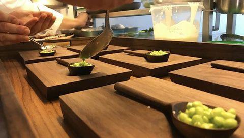 Piezas para el restaurante Culler de Pau