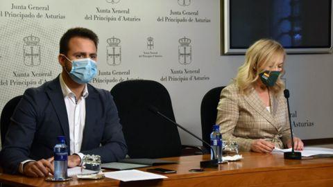 Álvaro Queipo y Sara Álvarez Rouco