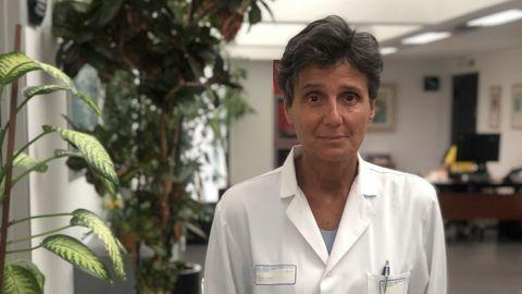 Ana Pastor, neurocirujana del CHUO
