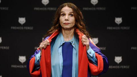 La actriz y cantante, Victoria Abril
