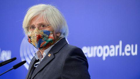La eurodiputada y exconsejera de la Generalitat Clara Ponsatí