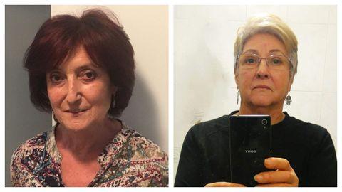Teresa Bello y Alba Cruz