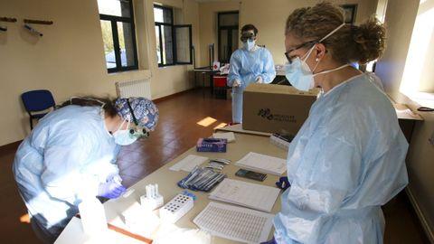 Campus de Ferrol (pruebas en el hospital Novoa Santos)