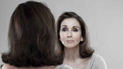 Ana Belén, en un momento de la obra //JAVIER NAVAL