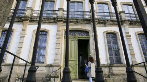 Fachada principal del Seminario de Lugo