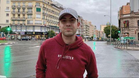 Jacobo Pérez hace un máster de Periodismo en Madrid