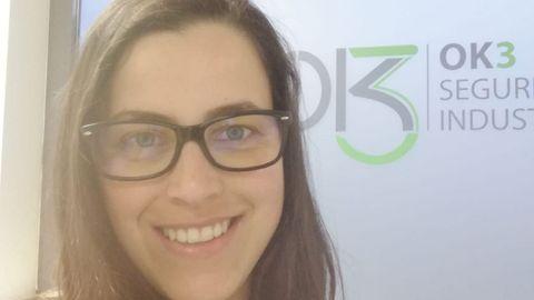 La naronesa Noelia Vázquez es la gerente de OK3, empresa con sede en Narón.