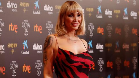 La actriz Daniela Santiago.