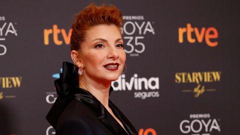La actriz y cantante Najwa Nimri.