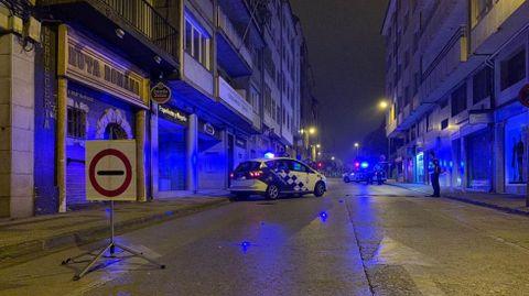 Imaxe de arquivo dun control da Policía Local en Lugo