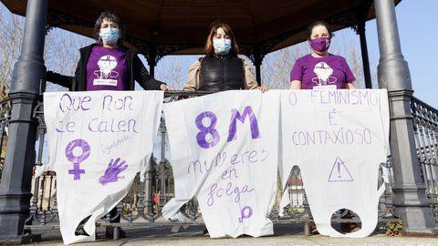 protesta en Catoira