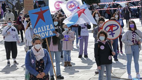 Día da Muller en Pontevedra