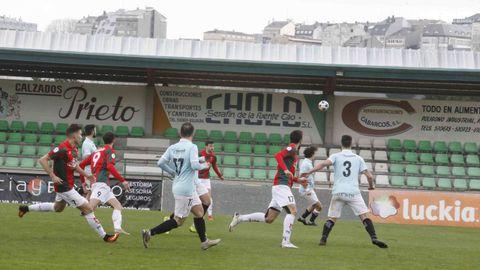 El estadio de A Magdalena es escenario de los partidos que juega como local el Racing Vilalbés