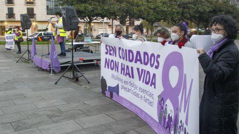 Concentración por el 8M en Ferrol