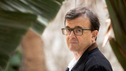 El escritor Javier Cercas (Ibahernando, Cáceres, 1962)