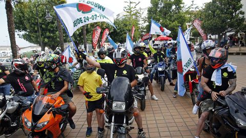 El motoclub está muy involucrado con lo que sucede en Ribeira e, incluso, anunciaron el inicio de la Festa da Dorna en el 2018