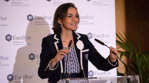 La ministra de Industria y Turismo, Reyes Maroto