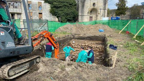 La excavación del barrio de O Carme está dentro del proyecto Dusi Muramiñae