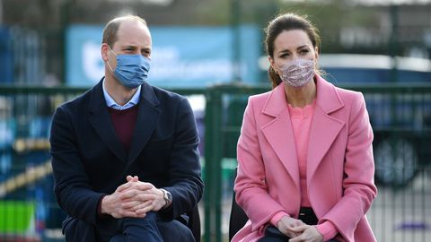 Guillermo y Kate se reunieron con maestros y profesionales de salud mental tras la reapertura de los colegios en el Reino Unido