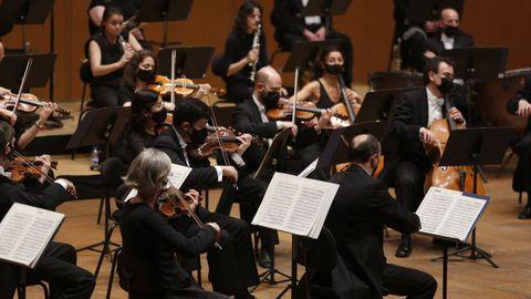 Concierto de la OSG en el Palacio de la Ópera. Imagen de archivo