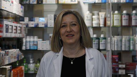 Nieves López es farmacéutica