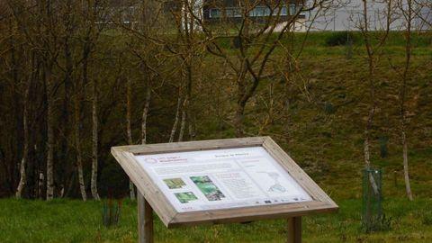 Los visitantes tendrán paneles con información sobre la flora de la zona