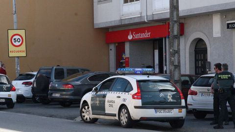 Imagen de archivo de la oficina del Banco Santander