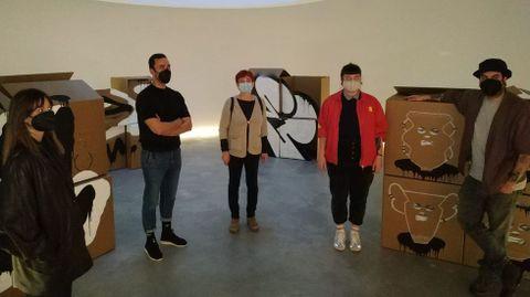 Inaugurada no MIHL a exposición «Non despaletizar ata destino»