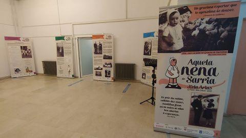Mostra sobre Xela Arias na Casa da Cultura de Sarria