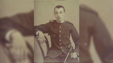 Anselmo Antonio Manuel Vilar García, farero lucense de Torre del Mar, en su juventud