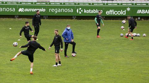 El Racing de Ferrol regresa a los entrenamientos