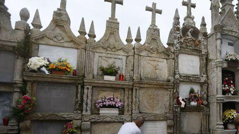 Foto de archivo del cementerio de Bravos, en el municipio de Ourol