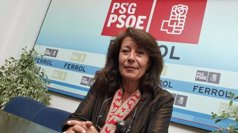 Paloma Rodríguez, cuando fue elegida número tres por el PSOE para el Congreso