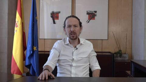 Pablo Iglesiasanuncia su marcha del Gobierno