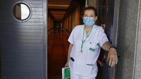 Emma Rodríguez Corte, enfermera de urgencias y secretaria provincial del sindicato Satse