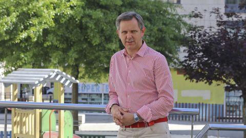 José Miñones, alcalde de Ames