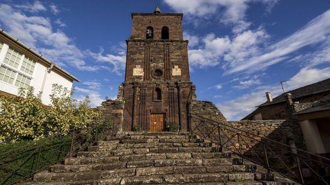 La iglesia de Montefurado, construida con la singular «pedra cabaleira» ?una roca típica del valle del Sil? es uno de los lugares que se visitarán dentro de las actividades del Geolodía