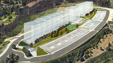 Recreación del corredor verde en Novo Mesoiro