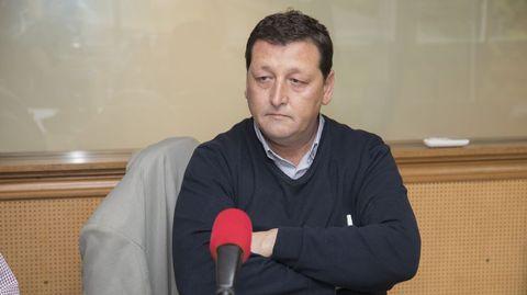 José Manuel Traba, exalcalde de Fisterra, en una imagen anterior a la pandemia