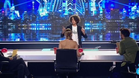 Coke Couto en el programa Got Talent
