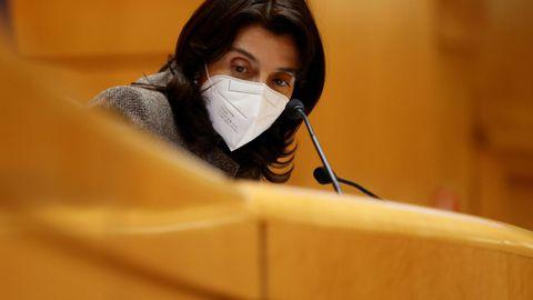 Pilar Llop, hasta ahora presidenta del Senado, tomará el relevo de Juan Carlos Campo al frente de Justicia