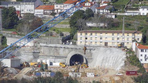 Estado actual de los trabajos de perforación, iniciados hace dos semanas de manera mecánica