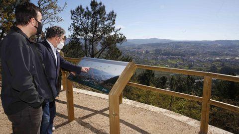 Nuevo parque forestal de A Tomba, en Pontevedra