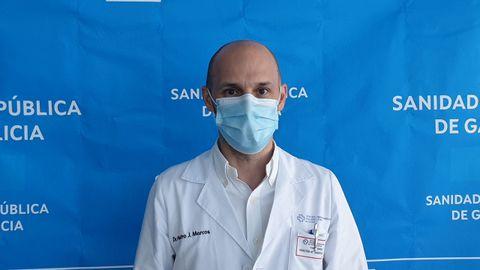 Chuac Pedro Marcos Rodríguez, neumólogo y director médico de hospitalización y urgencias del área sanitaria de A Coruña y Cee