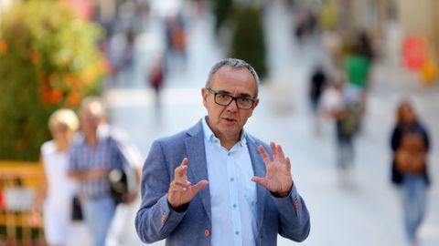 Joan Coscubiela, exdiputado de Catalunya sí que es pot y autor de   La pandemia del capitalismo