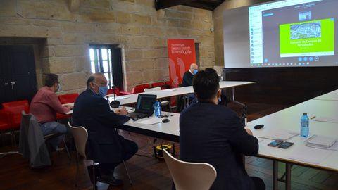 Consello de Campus de Pontevedra celebrado en jueves en la Casa das Campás