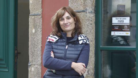 En la imagen, Marta Pazo, coordinadora de Cáritas en la diócesis de Mondoñedo-Ferrol
